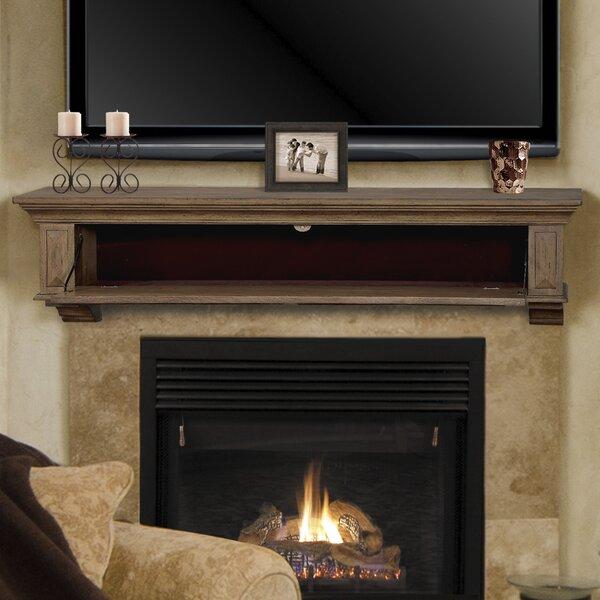 Thomas Drop Front Fireplace Shelf Mantel by Pearl Mantels