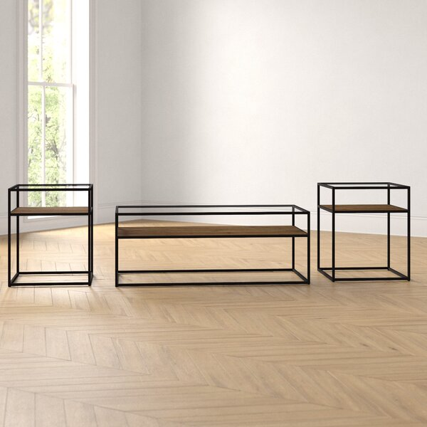 Hartley 3 Piece Coffee Table Set by Foundstone Foundstone