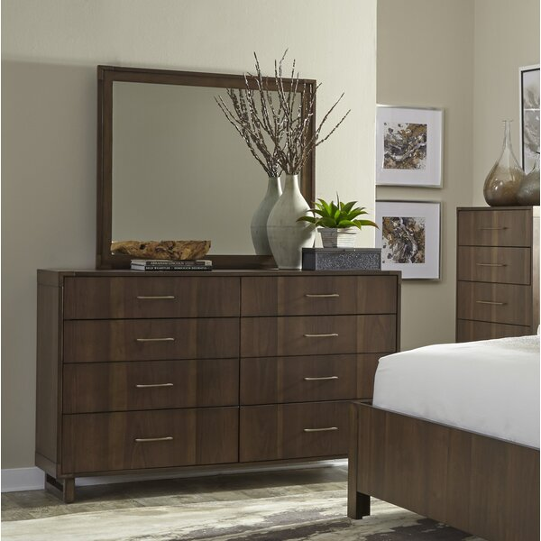 New Janine 8 Drawer Double Dresser By Wrought Studio Cheap