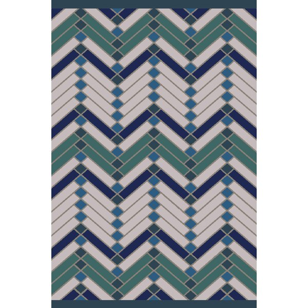 Wellow Green/Blue Area Rug by Wrought Studio