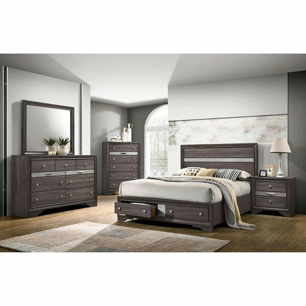 Stjean Platform Configurable Bedroom Set by House of Hampton