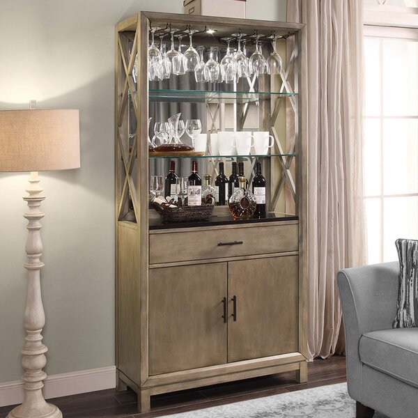Hyeon Bar Cabinet by Gracie Oaks Gracie Oaks