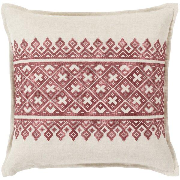 Woven Linen Throw Pillow by Birch Lane™