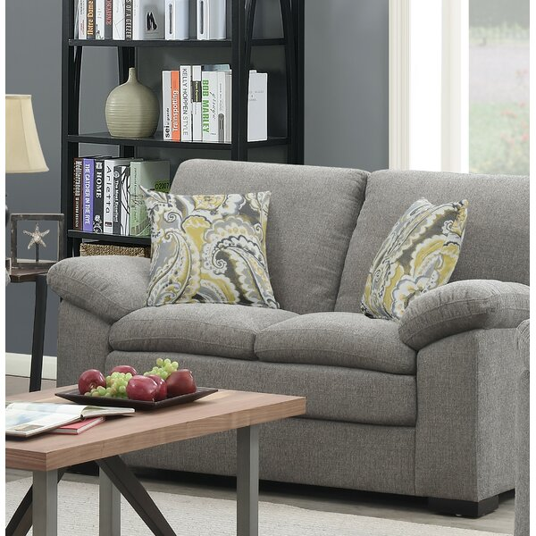 Cheap But Quality Kober Pebbled Standard Loveseat by Charlton Home by Charlton Home