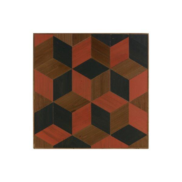 Mosaic Wood Parquet Wall Décor by Corrigan Studio