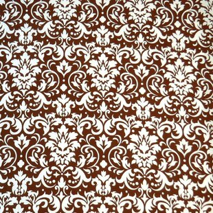 Great Price Damask Fitted Crib Sheet BySheetworld