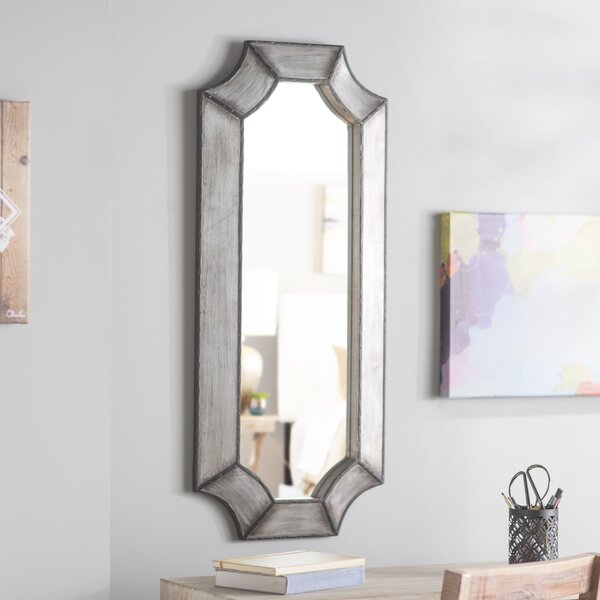 Beveled Wall Mirror by Bungalow Rose
