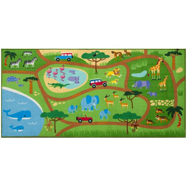 Safari Area Rug by Wildkin
