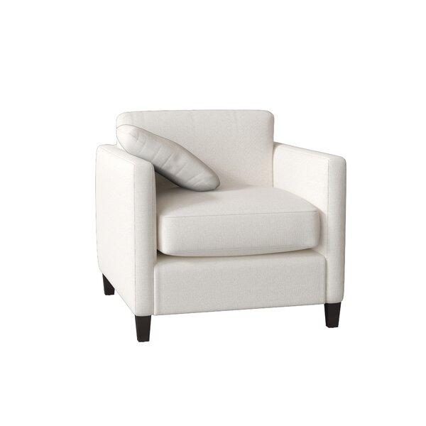 Victoria Armchair by AllModern Custom Upholstery AllModern Custom Upholstery