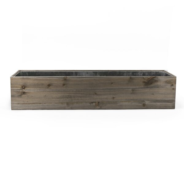 Welsh Wood Planter Box by August Grove