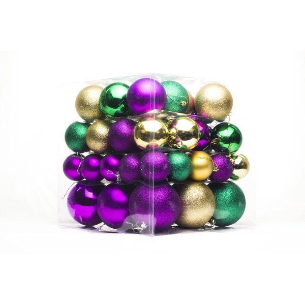 62 Piece Ball Ornament Set by Queens of Christmas