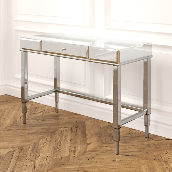 Guidinha Glass Desk By Willa Arlo Interiors by Willa Arlo Interiors Purchase