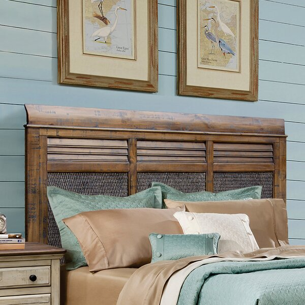Wilfred Sleigh Headboard by Bayou Breeze