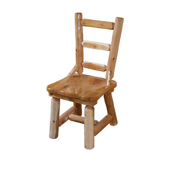 Goettingen Cedar Solid Wood Dining Chair by Loon Peak