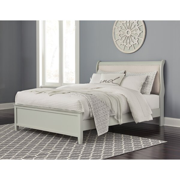 Jorstad Upholstered Standard Bed Charlton Home W001013532