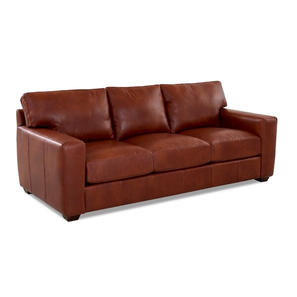 Best Discount Online Pratt Leather Sofa by Birch Lane Heritage by Birch Lane�� Heritage