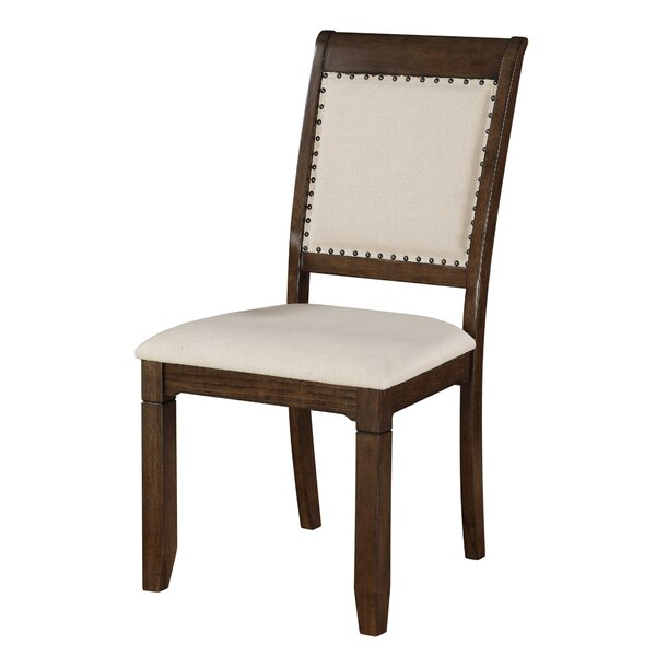 Find Clarkdale Upholstered Dining Chair (Set Of 2) By Loon Peak Herry Up