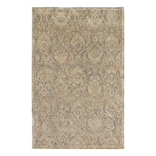 Plume Hand Knotted Flint Area Rug by DwellStudio