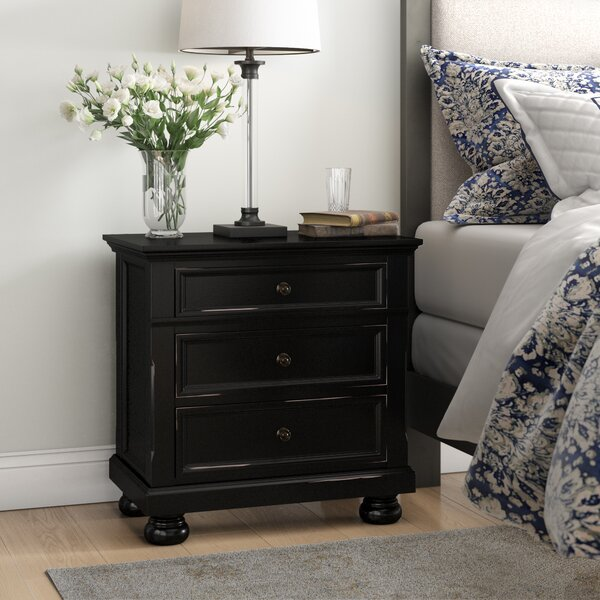 Ulverst 3 Drawer Nightstand by Charlton Home Charlton Home