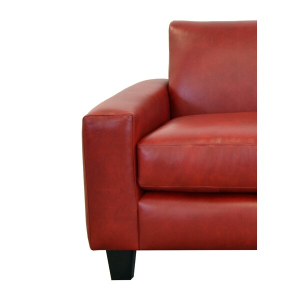 Columbia Leather Sofa by Westland and Birch