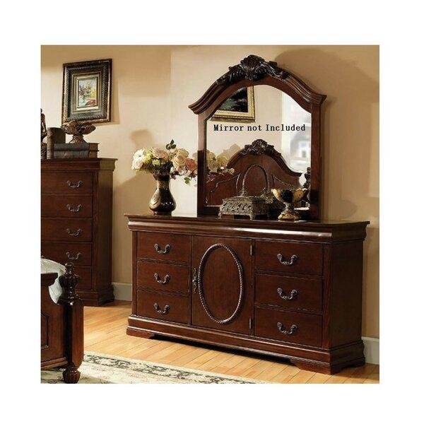 Nate 6 Drawer Combo Dresser by Astoria Grand
