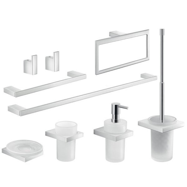 Lanzarote 9 Piece Bathroom Hardware Set by Gedy by Nameeks