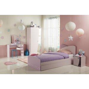 Denault Twin Platform Configurable Bedroom Set