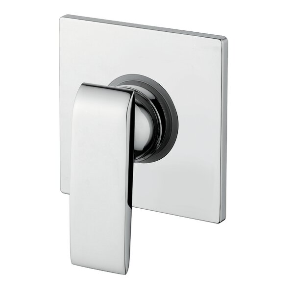 Amalfi Single Handle Concealer Shower Mixer Handle by Andolini Home & Design