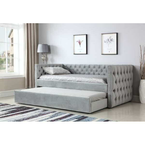Lansford Twin Daybed With Trundle By House Of Hampton Great Reviews