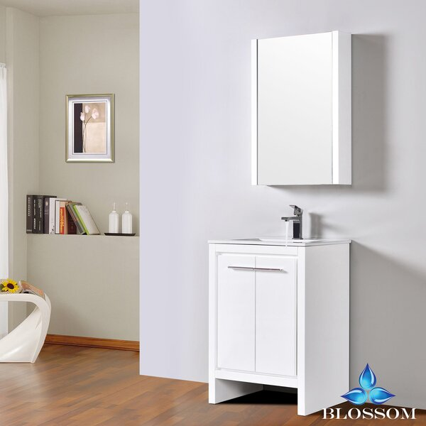 Artemis 23 Single Bathroom Vanity Set with Mirror by Ivy Bronx