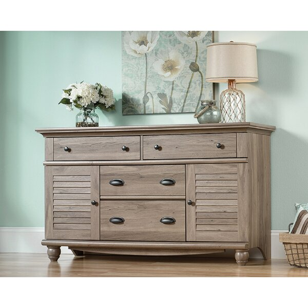 Dutcher 4 Drawer Combo Dresser by Highland Dunes