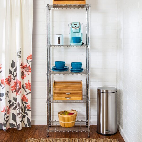 72 H x 24 W Shelving Unit by Honey Can Do72 H x 24 W Shelving Unit by Honey Can Do