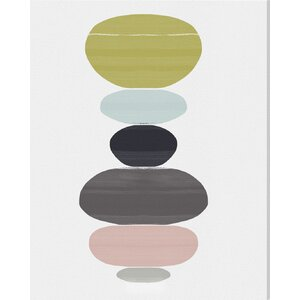 Perfect Balance Graphic Art on Wrapped Canvas by Langley Street