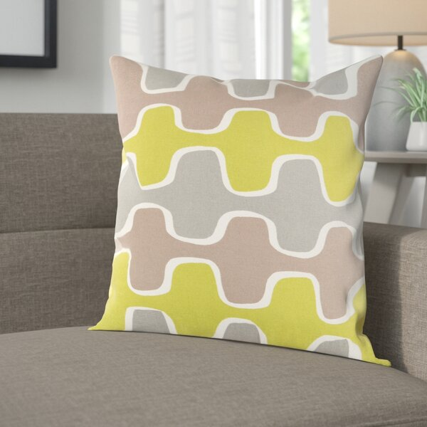Arsdale Square Cotton Throw Pillow Cover by Langley Street