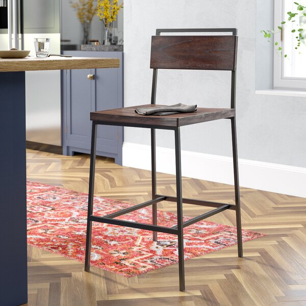 Sakamoto 26 Bar Stool by Laurel Foundry Modern Farmhouse