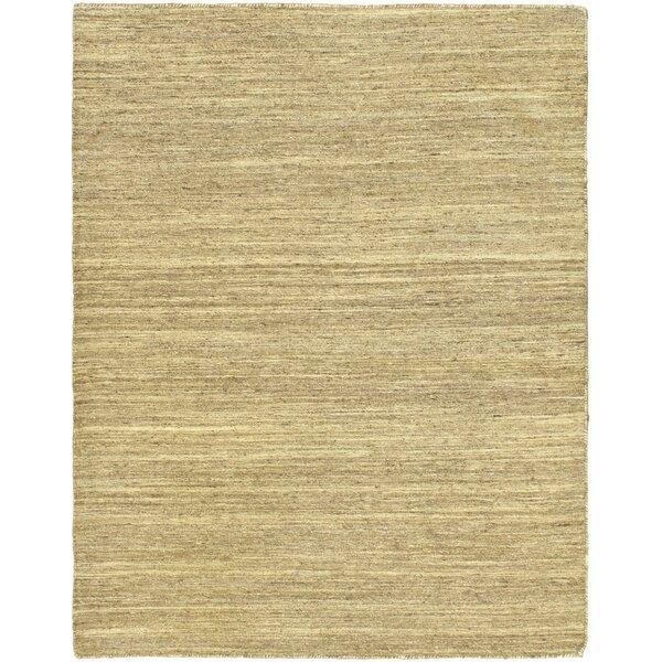 Handwoven Flatweave Wool Natural/Beige Area Rug by ECARPETGALLERY
