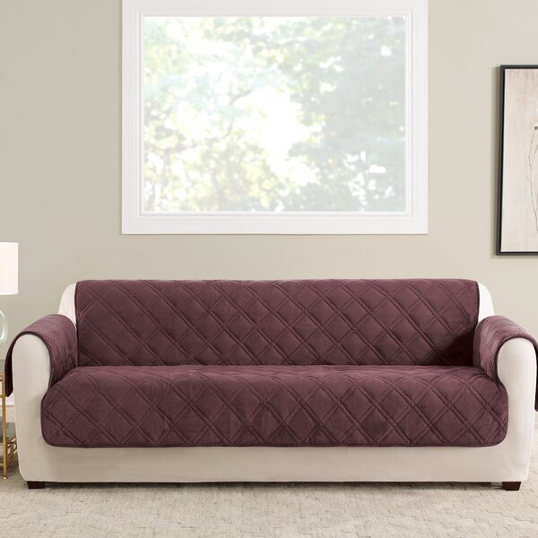 Triple Protection FC Box Cushion Sofa Slipcover By Sure Fit