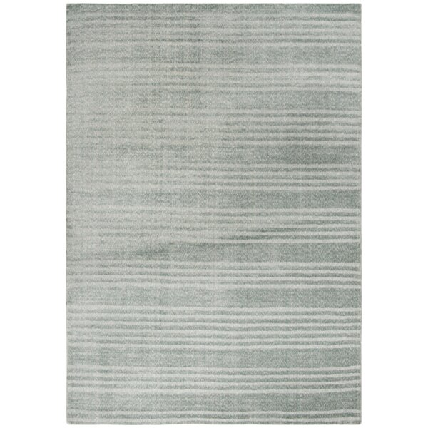 Alaina Hand-Knotted Blue Area Rug by Williston Forge