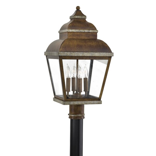 Saniyah Outdoor 4-Light Lantern Head by Bloomsbury Market