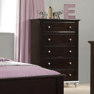 Johnny 5 Drawer Chest by House of Hampton