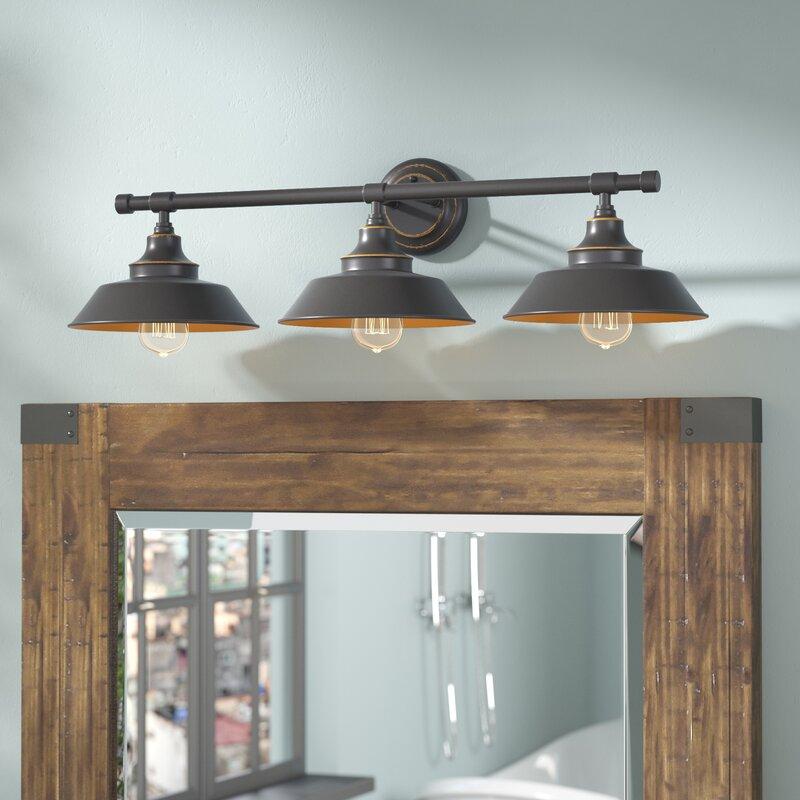 3 light vanity coastal alayna 3light vanity light trent austin design reviews wayfair