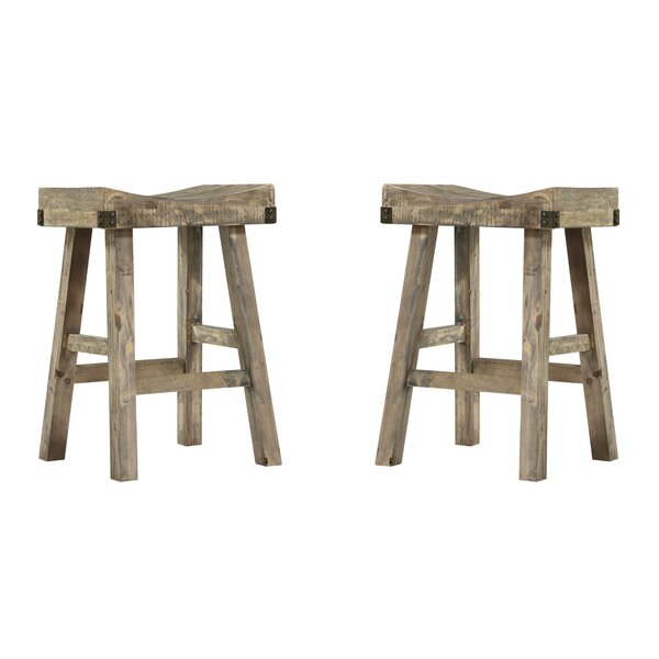 Winship Reclaimed 25 Bar Stool (Set of 2) by Gracie Oaks