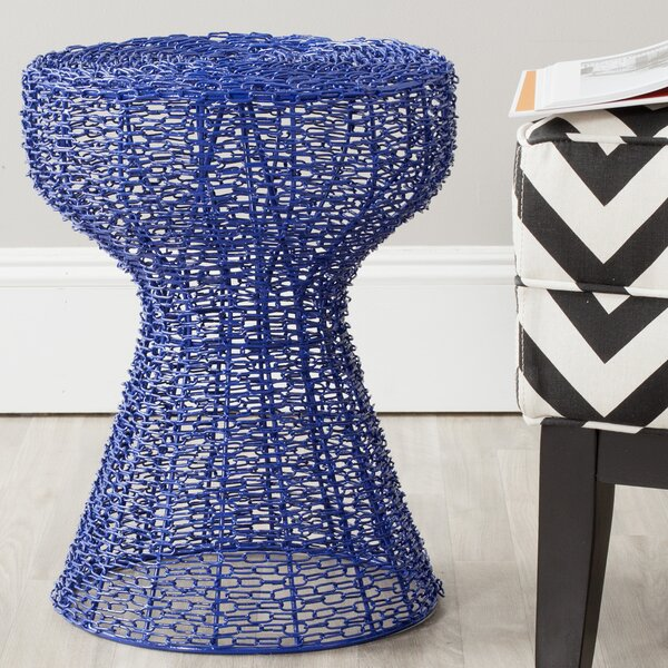 Fox Tabitha Iron Chain Stool by Safavieh