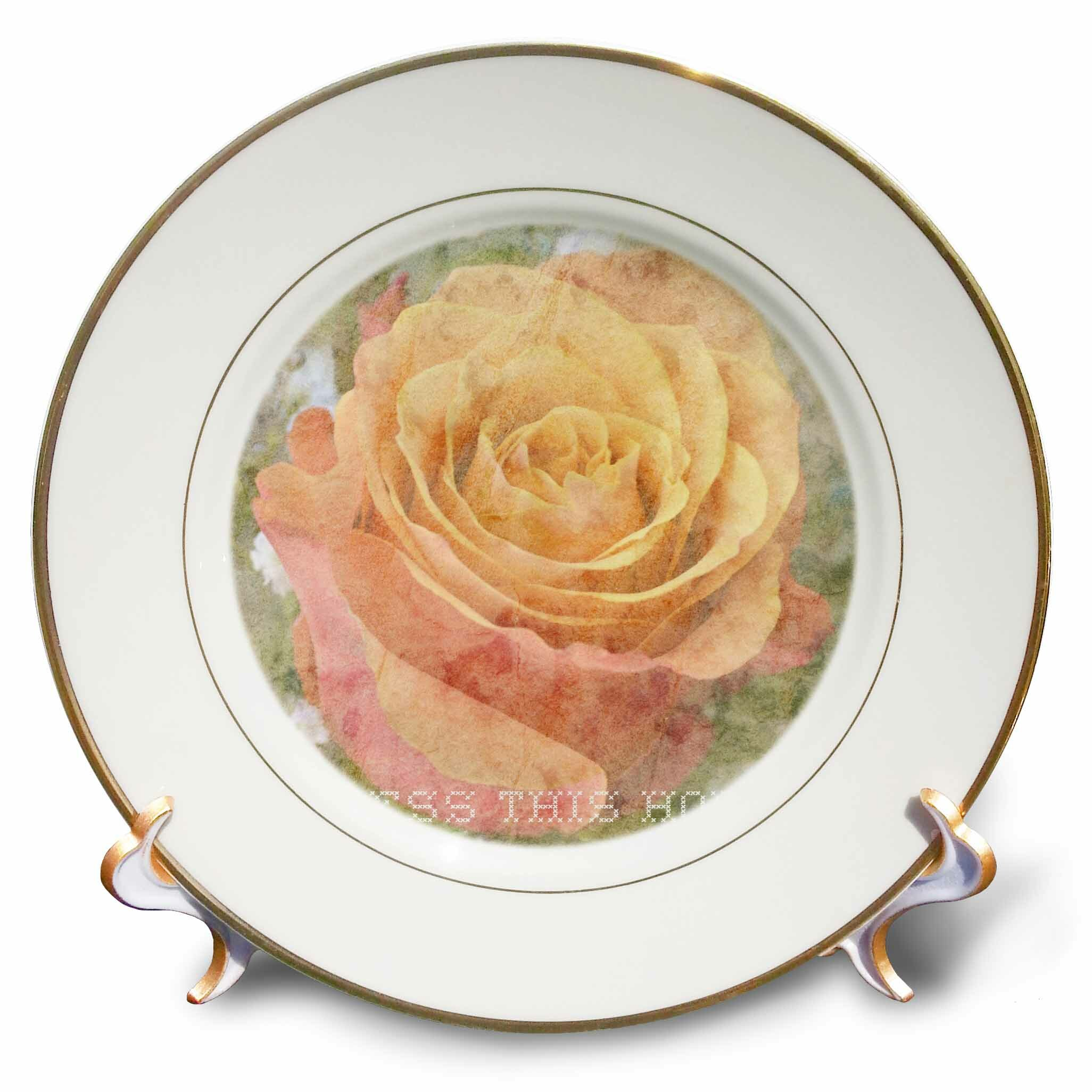 east urban home peach rose bless this home inspirational quotes