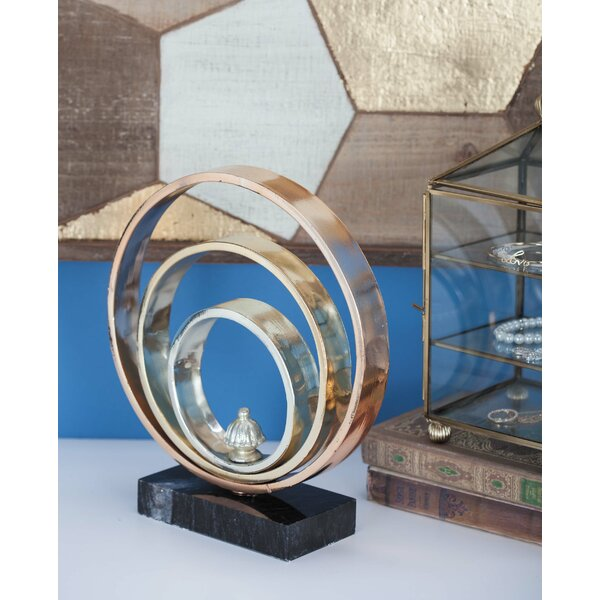 Metal Marble Sculpture by Cole & Grey