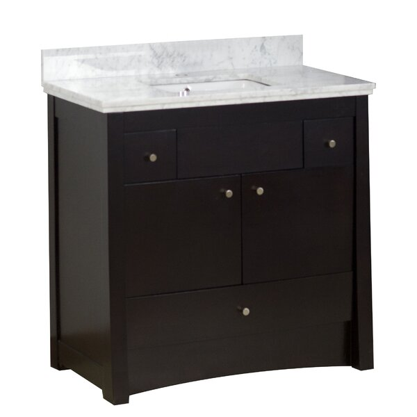 Ena Floor Mount 36 Single Bathroom Vanity Set