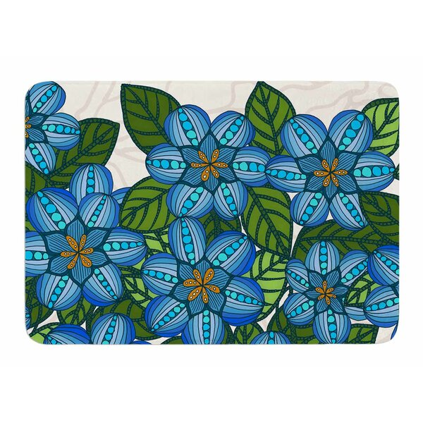 Flower Field by Art Love Passion Bath Mat by East Urban Home