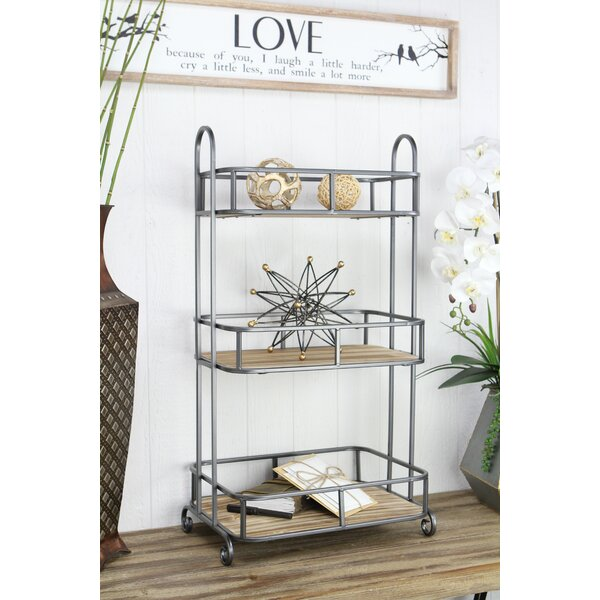 Nappi 3 Tier Bar Cart by Gracie Oaks Gracie Oaks