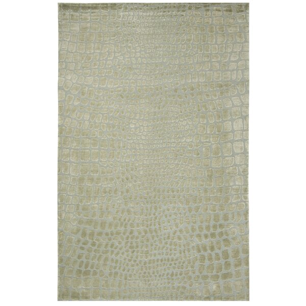 Amazonia Hand-Tufted Gray/Green Area Rug by Safavieh