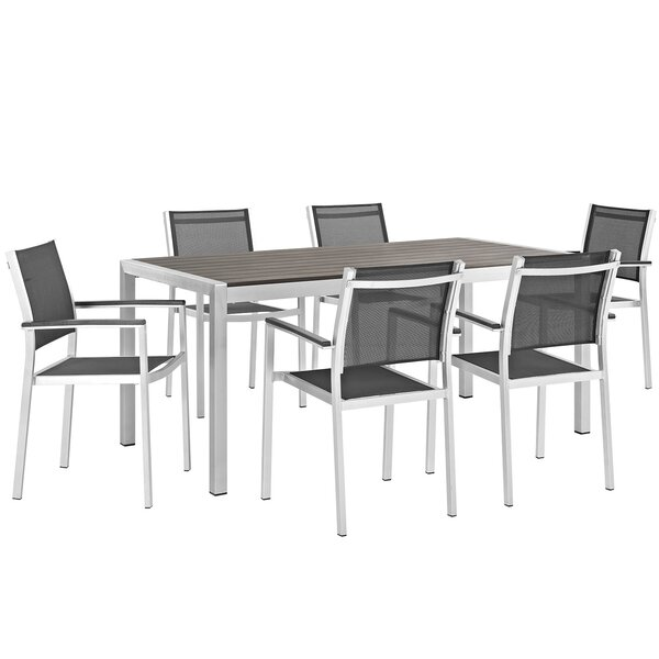 Coline 7 Piece Dining Set by Orren Ellis